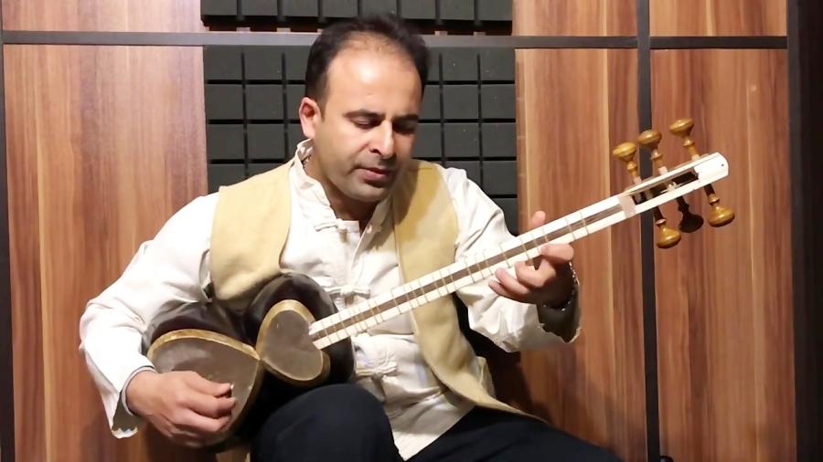 فیلم آموزش گوشهی رنگ فرح دستگاه همایون ردیف میرزا عبدالله نیما فریدونی تار