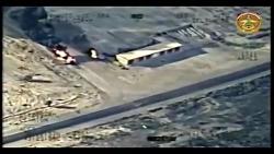 حمله هوایی به عناصر داعش در عراق