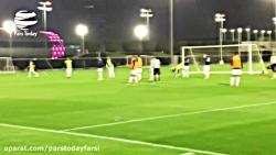 تمرینات آماده سازی تیم ملی فوتبال در قطر