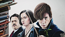 Speed Drawing Harry Potter - Fantastic Bea...