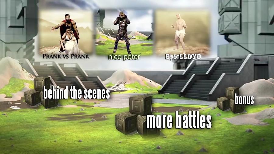 Master Chief vs Leonidas. Epic Rap Battles of History