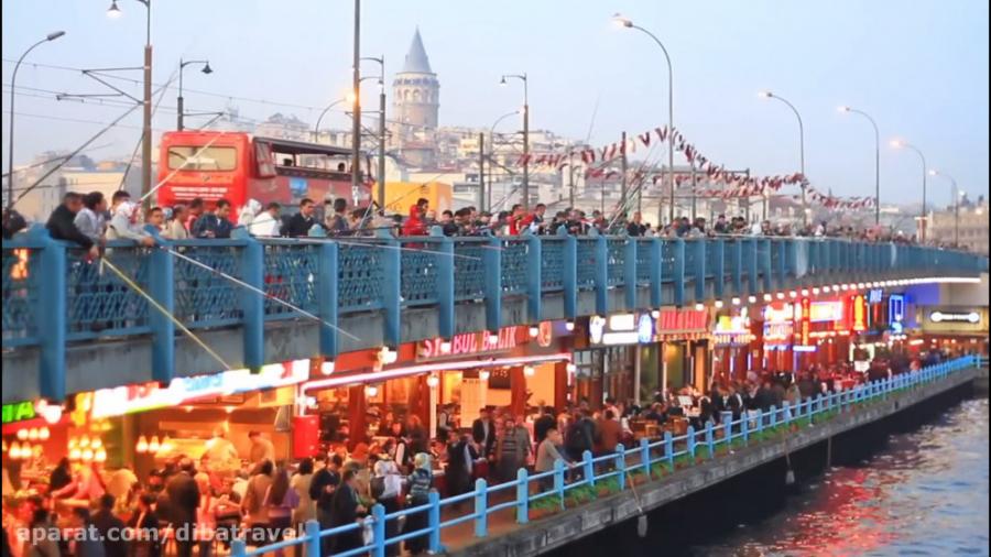 آژانس دیبا | ده جاذبه برتر گردشگری استانبول ترکیه
