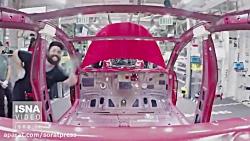فیلم خط تولید تسلا مدل 3 را ببینید