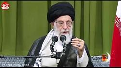 شعری که حاضران و رهبری را به وجد آورد_زمینِ کارزارِ ما تل آویو است، تهران نه