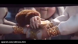 سکانس ازدواج هیکاپ و آسترید در انیمیشن مربی اژدها ۳