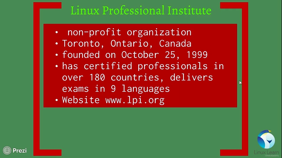 دوره مقدماتی آموزش لینوکس ( دوره LPIC1 )