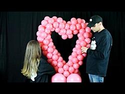 آموزش بادکنک آرایی قلب- تزیین جشن تولد - تزیین ولنتاین