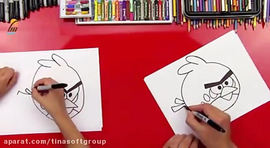 آموزش نقاشی شخصیت های کارتونی
