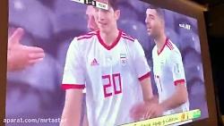 گل سوم تیم ملی فوتبال ا...