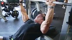 تمرین سینه و پشت بازو پ...