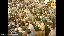 تصاویری از شرکت امام خمینی ره در انتخابات و رای دادن ایشان از داخل ماشین