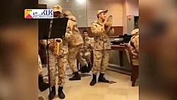 رقص جالب سربازان ایرانی در پادگان فضای مجازی را بلعید