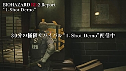 ویدیو تبلیغاتی Resident Evil 2 Remake با محوریت دموی بازی