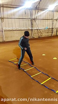 آموزش تنیس کودکان