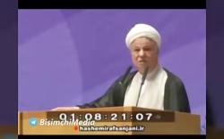 روحانی امروز: «قدرت دفاعی مان یادگار هاشمی ست»
