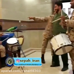 رقص و شادی جالب سربازان...
