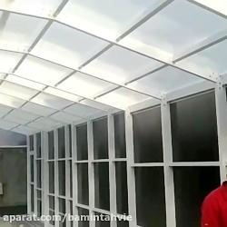 فروش انواع سقف های متحرک استخر
