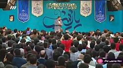 مولودی خوانی شبکه 3 - حاج محمود کریمی - ولادت حضرت زینب (س)