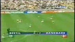 برزیل - دانمارک جام جها...