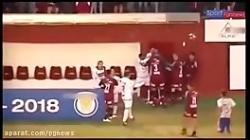 زد و خوردهای فوتبالی در سال ۲۰۱۸