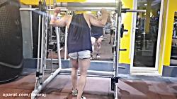 آموزش بدنسازی اسکات