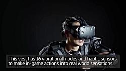 لباس واقعیت مجازی teslasuit
