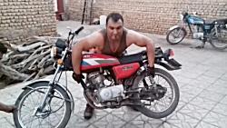 بلند کردن موتور هوندا