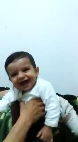 خنده پسر بچه بنام پارسا