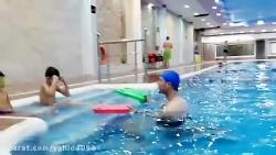 آموزش شنا کودکان(شنا با...