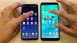 مقایسه سرعت Galaxy S8 و Xiaomi ...