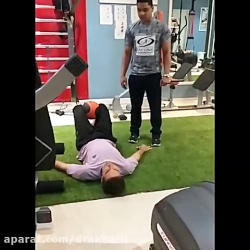 ورزش درمانی تحت نظر دکت...
