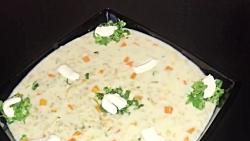 طرز تهیه سوپ شیر رستورانی  همراه با خاله سیما