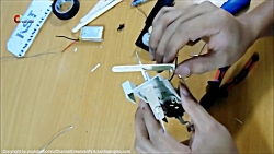 How to make robot insect, 4 four-legged ro...