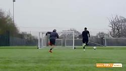 آموزش چند تکنیک کاربردی فوتبال