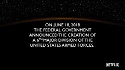 Space Force سریال کمدی Netflix