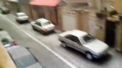 تگرگ شدید تهران را سفید...