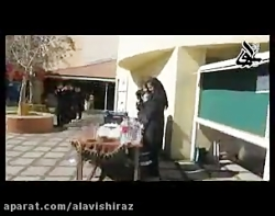 تهیه ترشی در دبیرستان د...