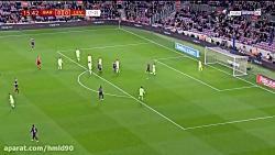 خلاصه بازی بارسلونا 3 - 0...