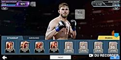 گیپلی بازی ufc در موبایل