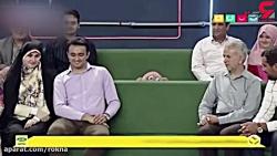بازی بامزه جناب خان در ...