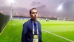 توضیحات خبرنگار تسنیم ...