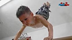 قوی ترین کودکان بدن ساز...