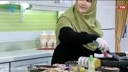 آشپزی - ماهی حشو