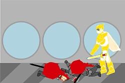 انیمیشن|جنگ آقای زرد زر...
