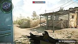 گیم پلی بازی WarFace