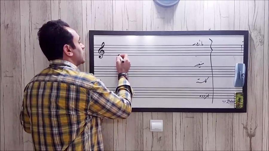 فیلم آموزش تئوری موسیقی ۲ ایمان ملکی