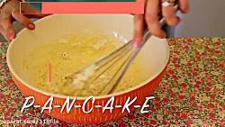 دستور پخت پن کیک عسلی خوشمزه