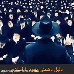 دلیل دشمنی یهودی ها با ...