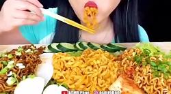 چالش غذا خوری کپی ممنوع