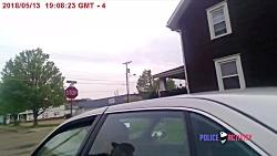 پاره پاره کردن یک مرد توسط سگ پلیس آمریکا